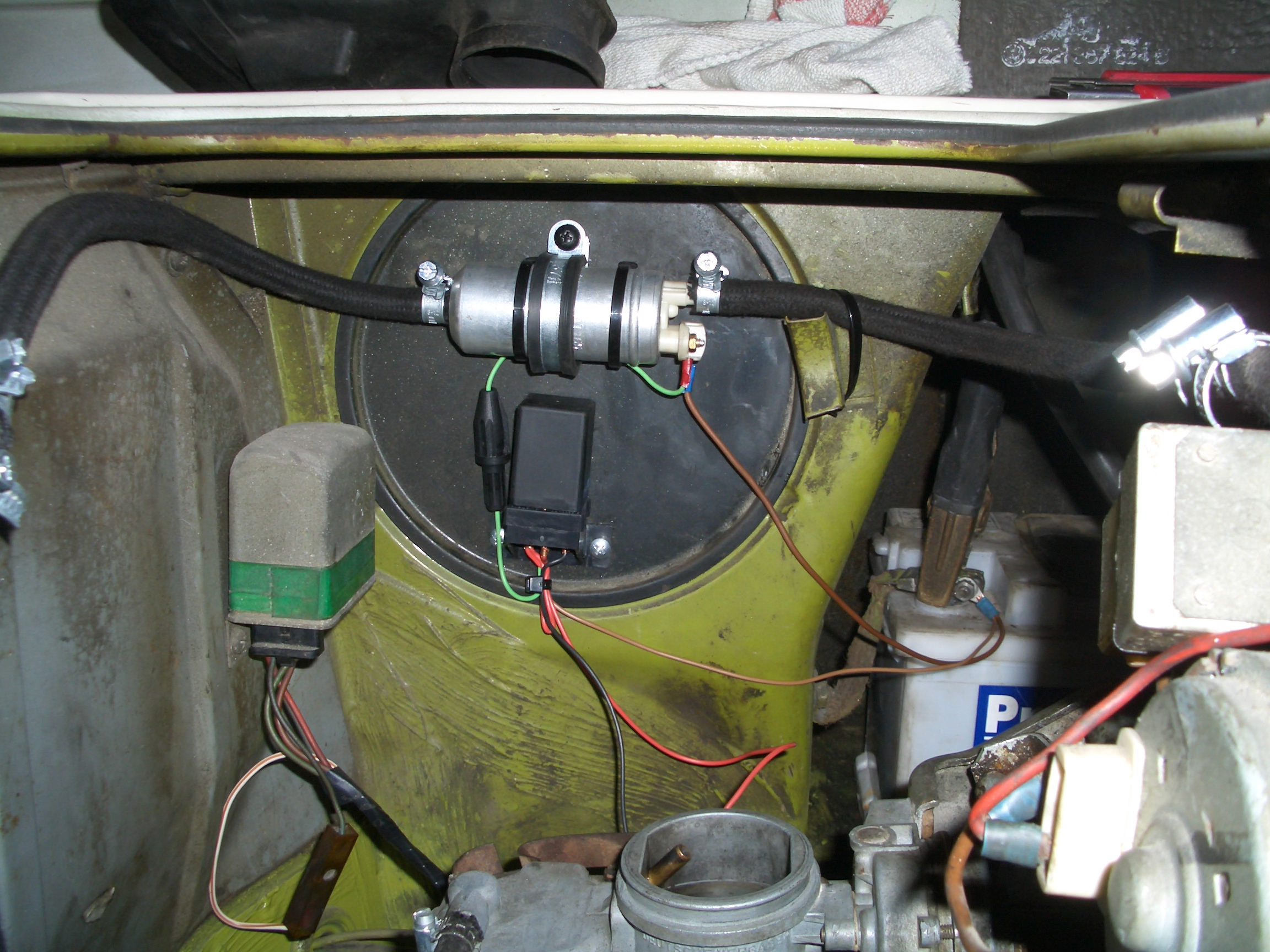 Fuel Pump Campervan Crazy Spare Electric Along With My Hose The New And Control Unit