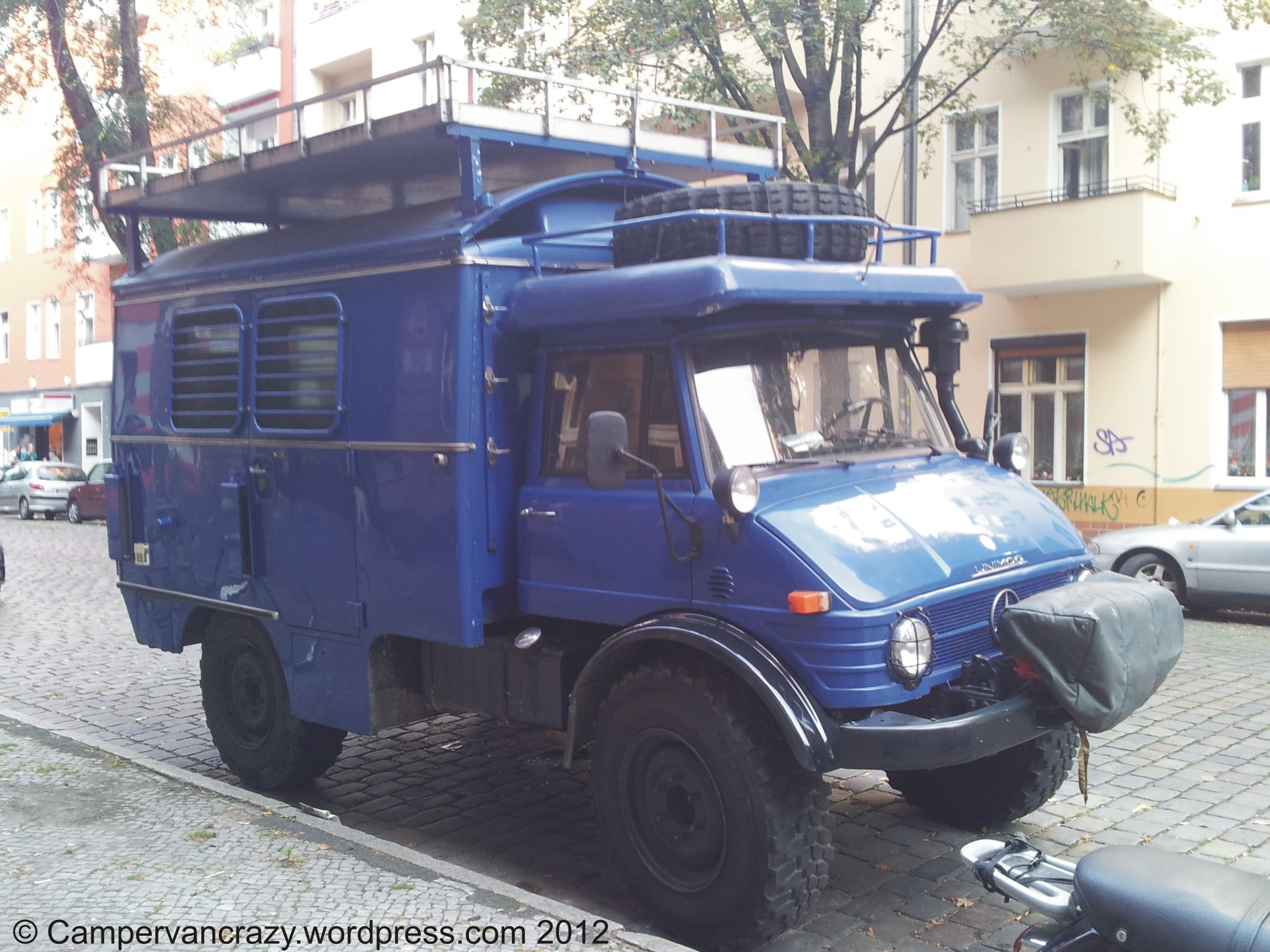Awesome Unimog Camper Truck
