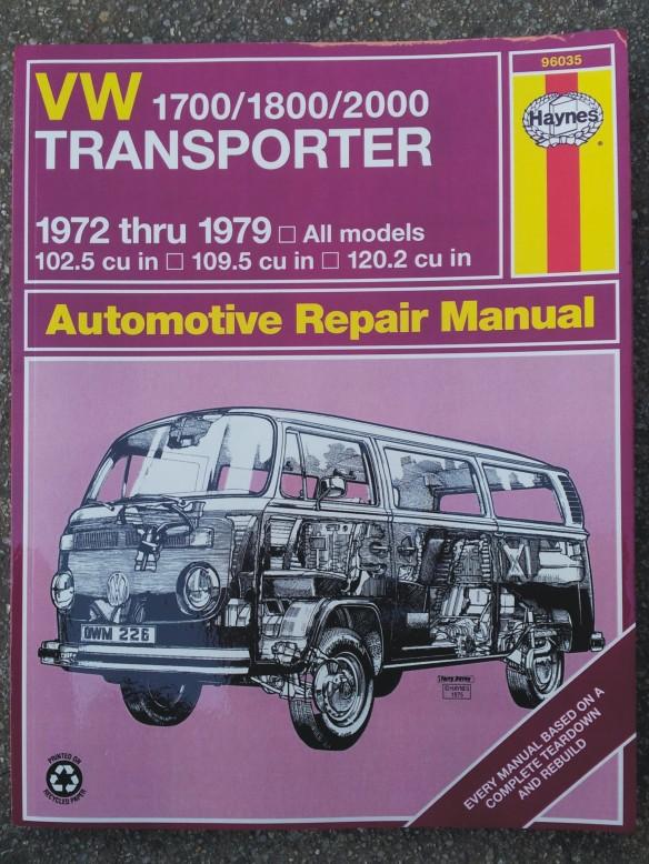 VW Bus Repair Manual | Campervan Crazy