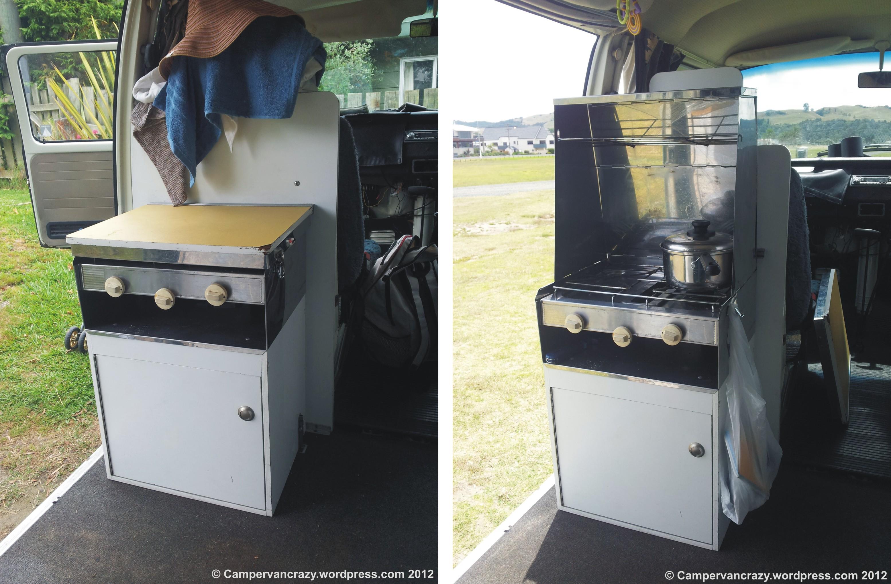 Campervan Conversion Kitchen Units