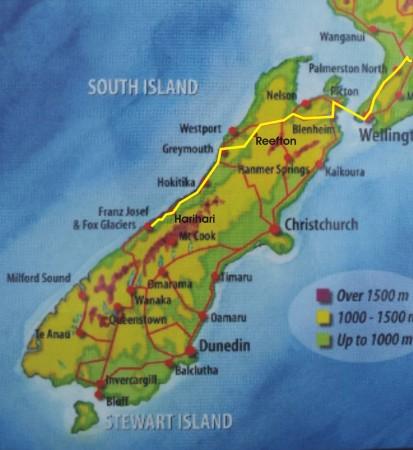 new zealand south island road map pdf
