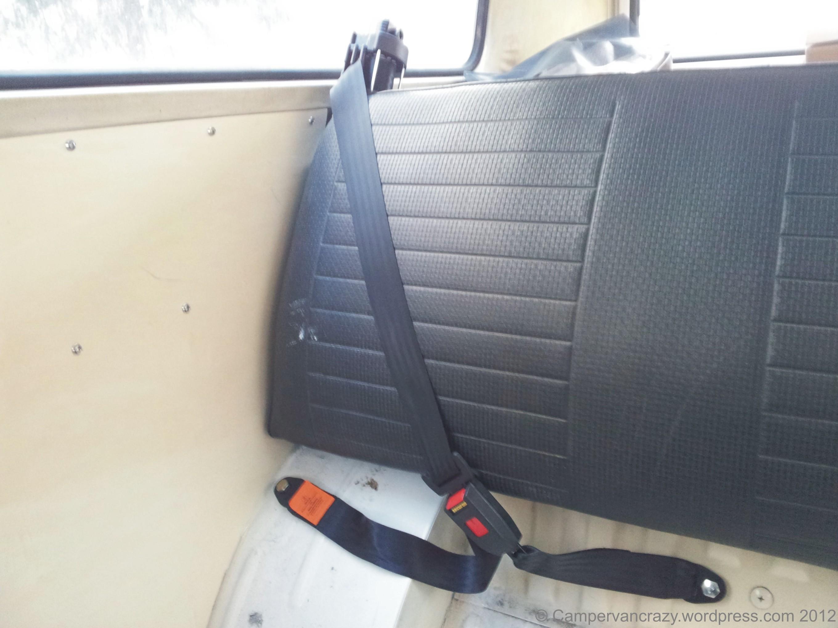 Safety Belt Campervan Crazy