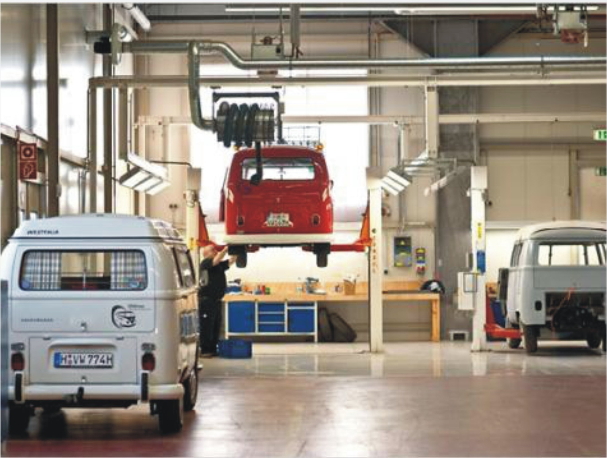 Vw bus spare parts suppliers campervan crazy - Garage volkswagen creteil ...