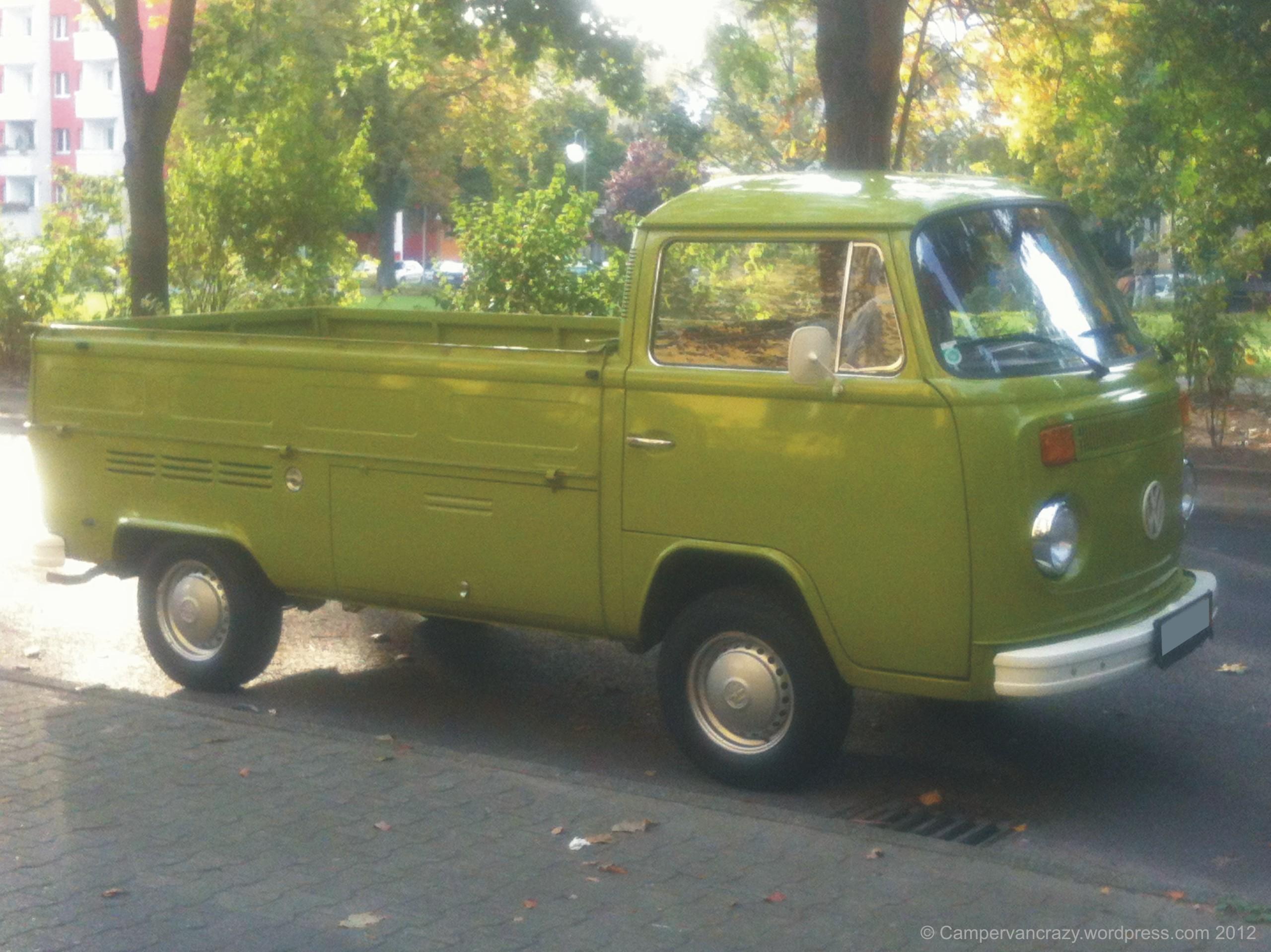 Volkswagen New Truck >> Single Cab   Campervan Crazy