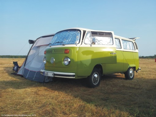 Our bus Taiga Lily, a 1976 Later Bay microbus.