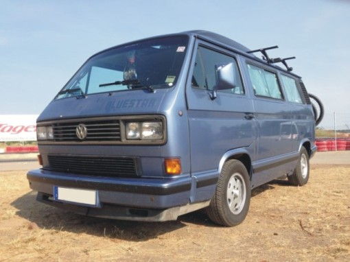 T3 Blue Star Hanover edition, bus of my best mate Jan, ready for a two week camping trip to Northern Italy.