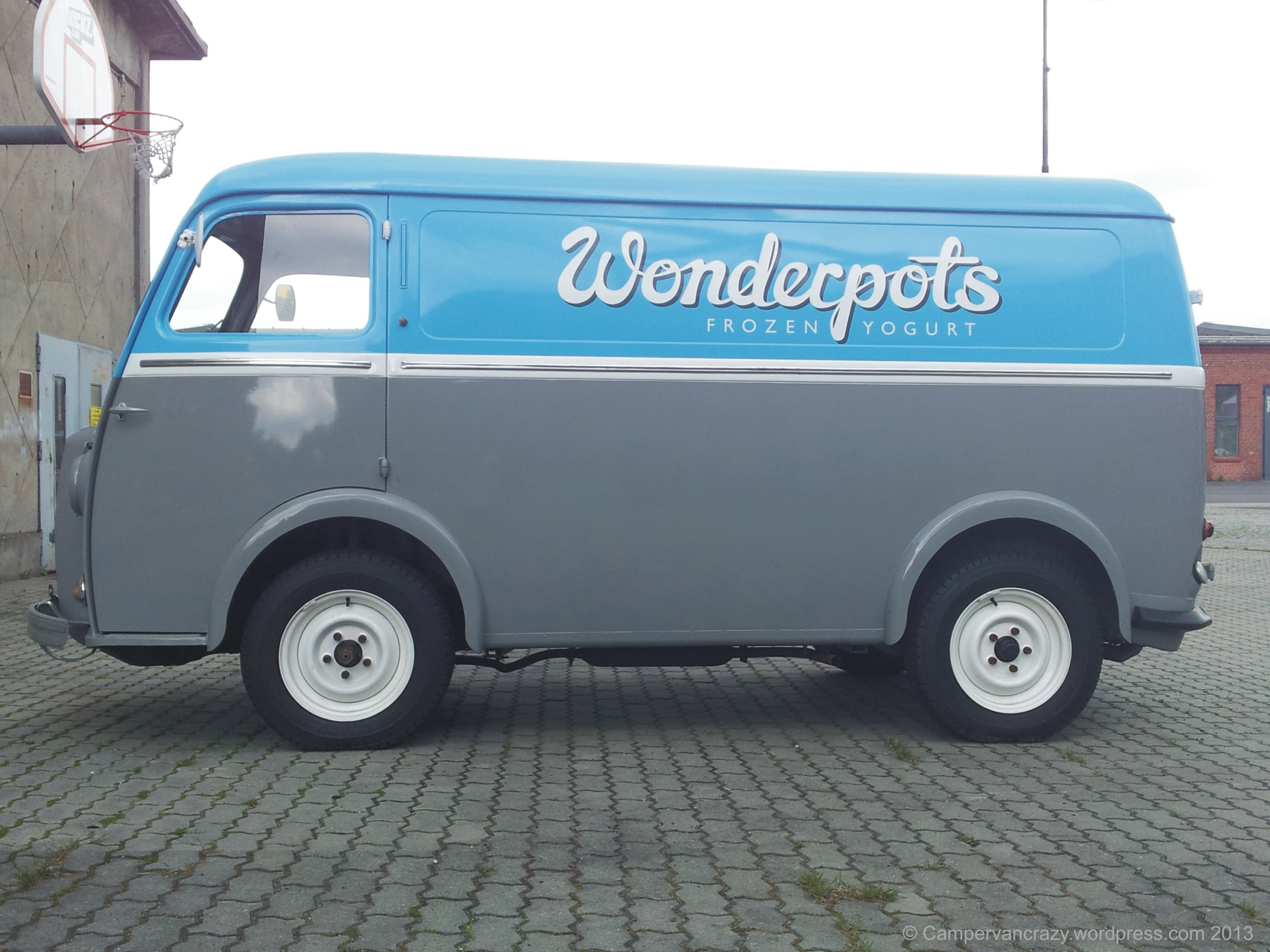 Vintage Peugeot Food Van | Campervan Crazy