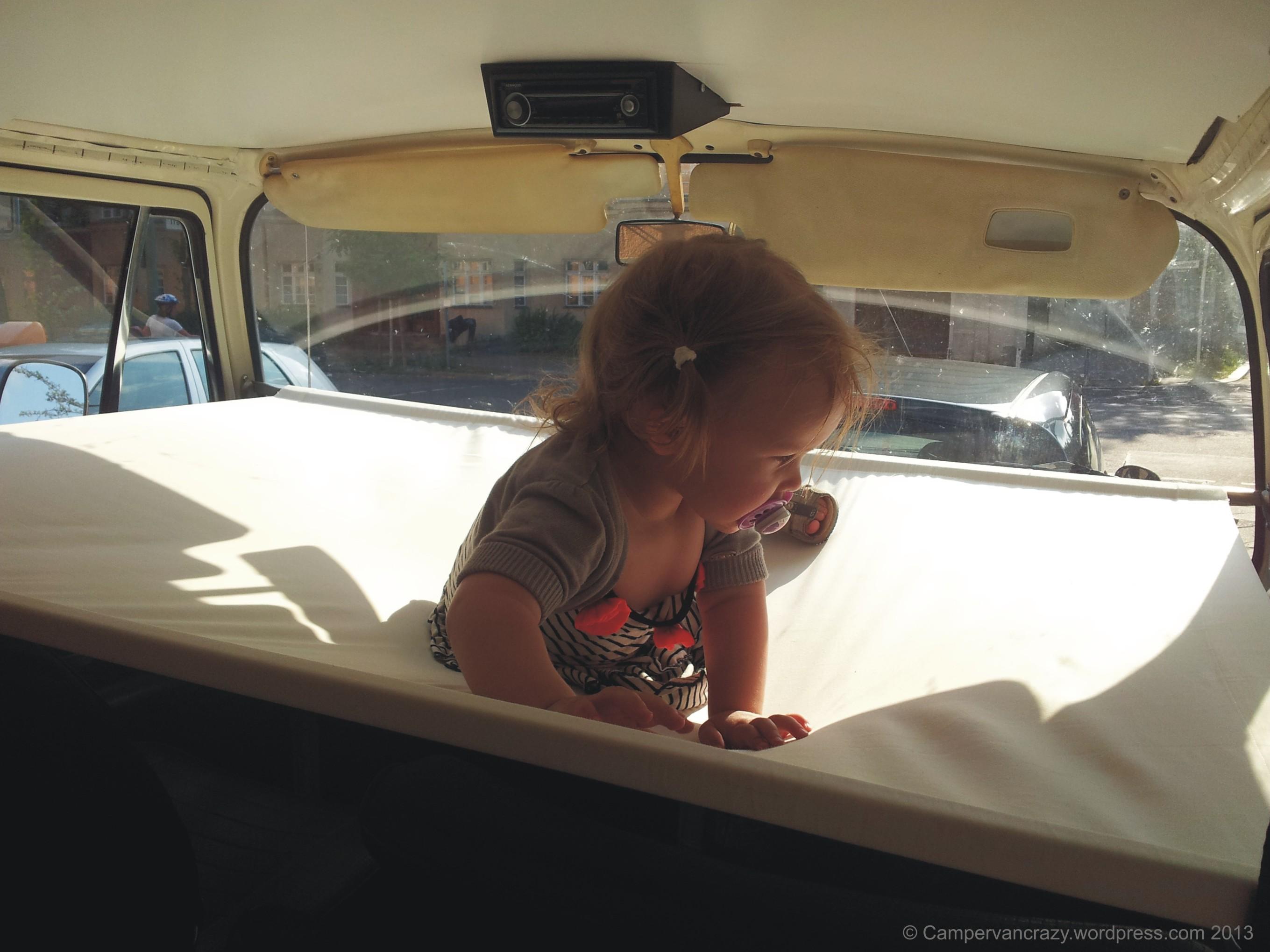 Child S Bunk Bed Campervan Crazy