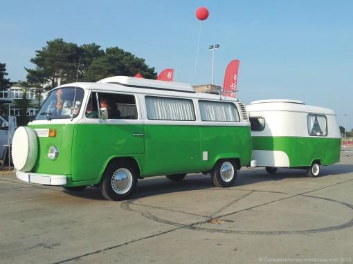 Late bay with Eriba Puk trailer.