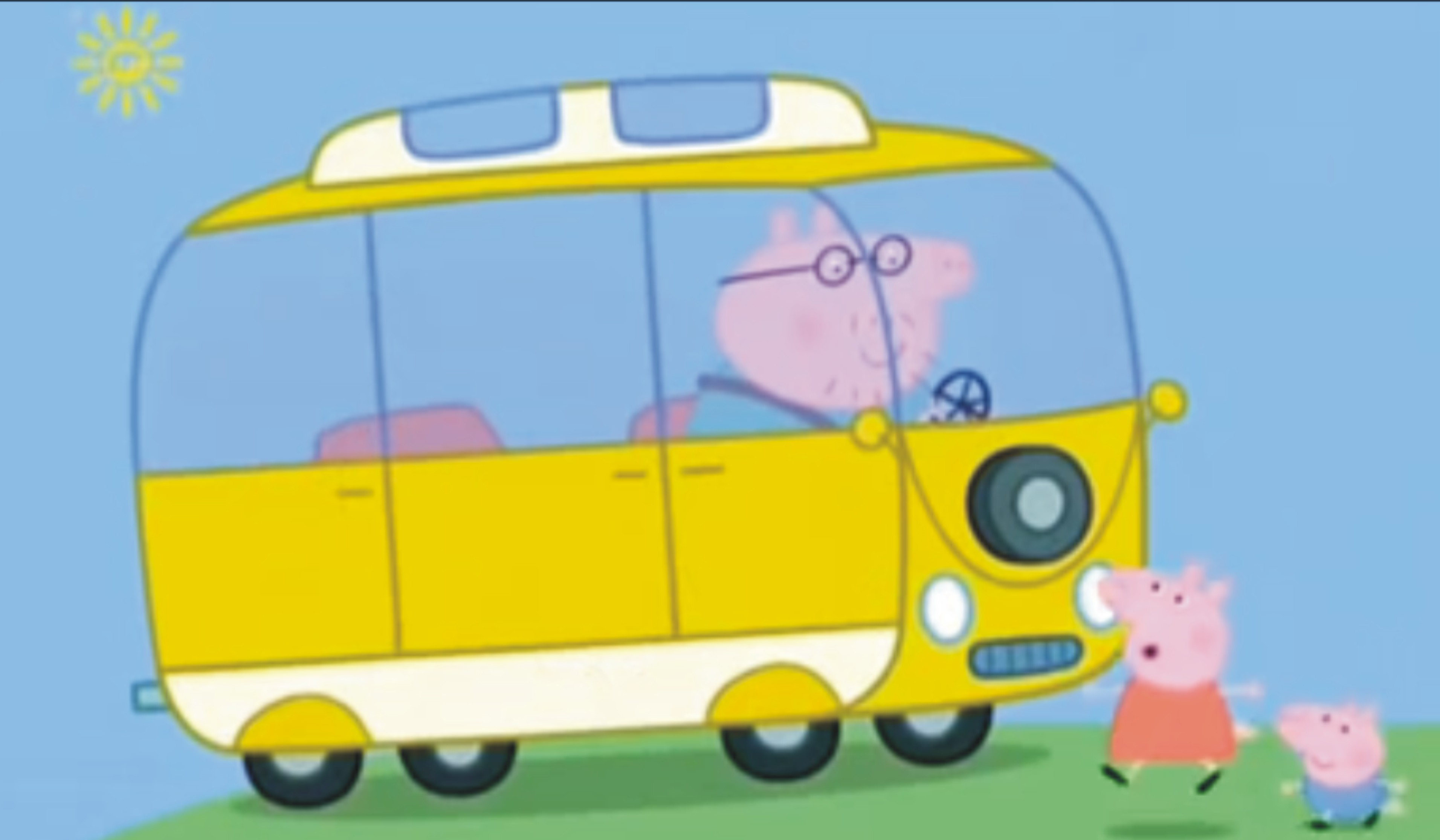Peppa Pig And The Campervan Campervan Crazy