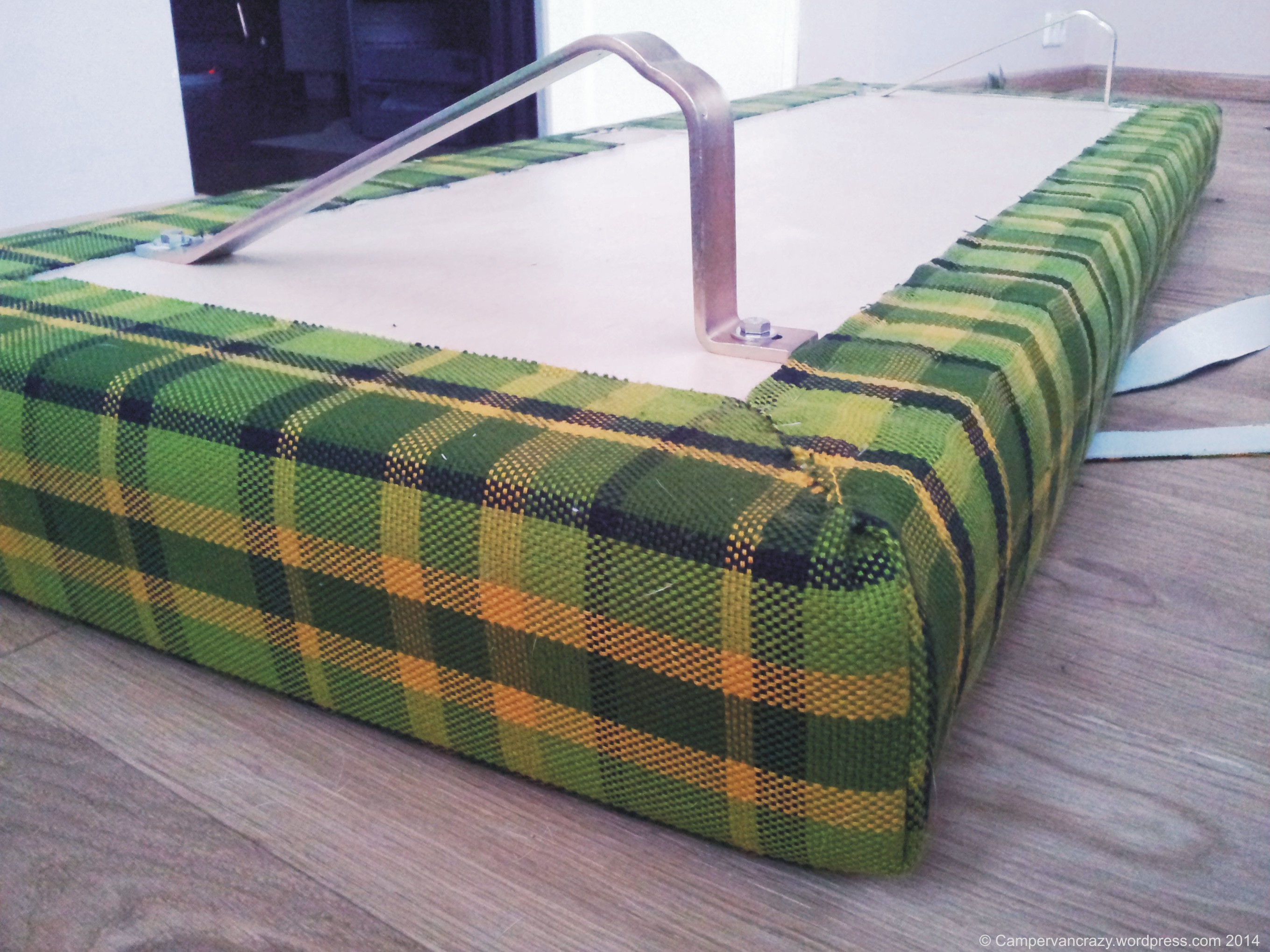 Rock And Roll Bed Part 6 Bench Cushions Campervan Crazy