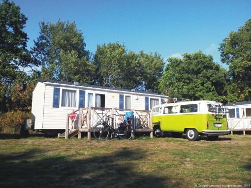 Campsite in Born on the Darss.