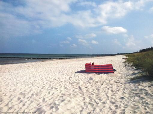 Beach close to Prerow  on the Darss.