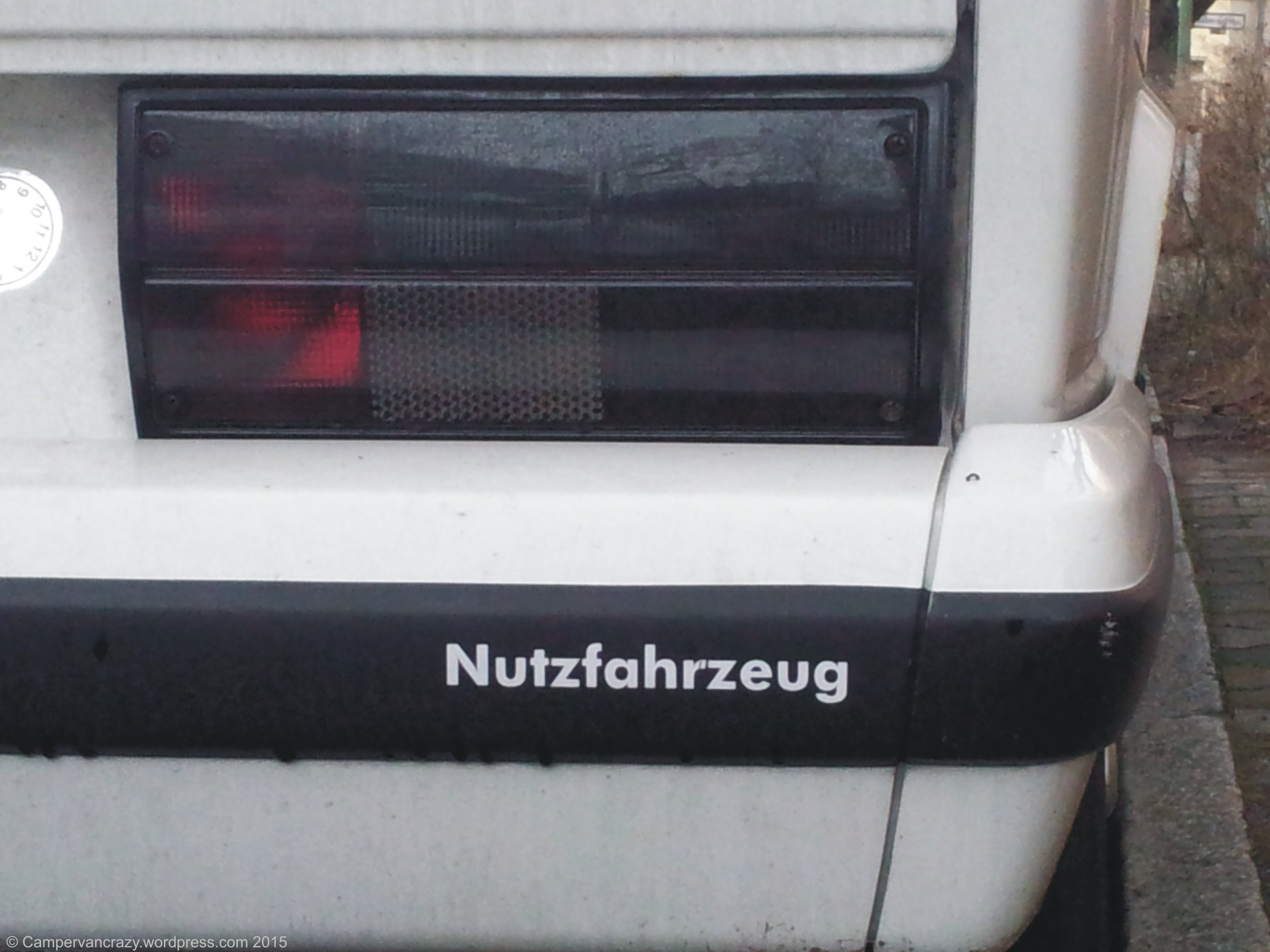 Nutzfahrzeug (German for utility vehicle, also VW's Commercial Vehicles division)