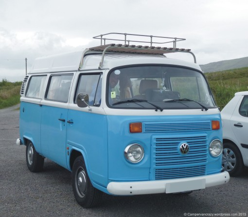 Brazilian T2c bay window camper.