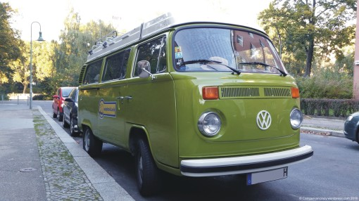 Sage Green Berlin Westfalia Camper